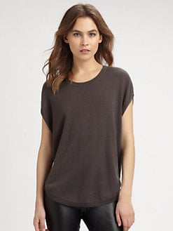 Vince - Sheer-Back Cashmere Sweater