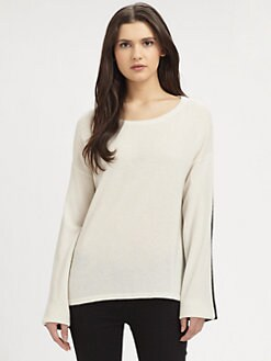 Vince - Two-Tone Cashmere Sweater