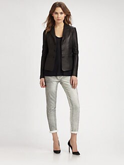 Vince - Leather Blazer