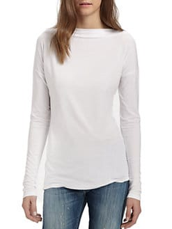 Vince - Long-Sleeve Boatneck Tee
