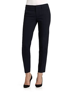 Vince - Solid Strapping Cropped Pants