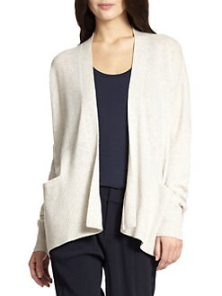 Vince - Open-Front Cashmere Cardigan