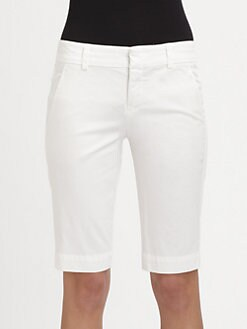 Vince - Side-Buckle Bermuda Shorts