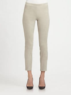 Vince - Cropped Suede Pants