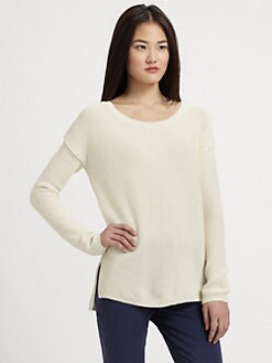 Vince - Cotton & Cashmere Crewneck Sweater