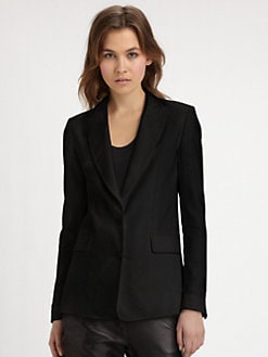 Vince - Linen-Blend Blazer
