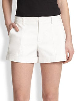 Vince - Slim Roll-Up Shorts