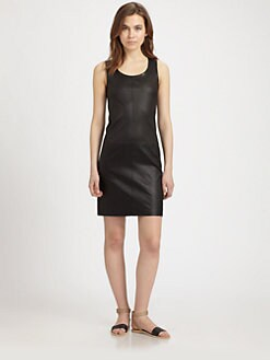 Vince - Stretch Leather Dress