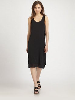 Vince - Double Layer Silk Dress