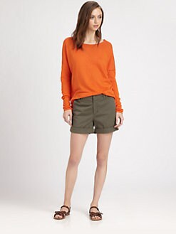 Vince - Drop Shoulder Cotton Sweater