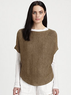 Vince - Linen Boatneck Sweater