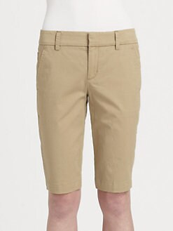 Vince - Stretch Twill Bermuda Shorts