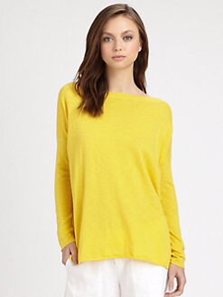 Vince - Ribbed Slub Knit Shirt