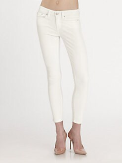 Vince - Coated Skinny Jeans