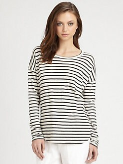 Vince - Fisherman Striped T-Shirt