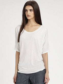 Vince - Draped Boatneck Top