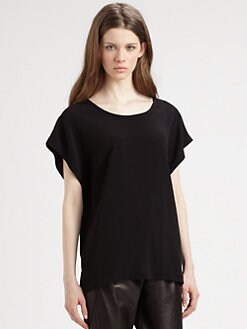 Vince - Stretch Satin Tee