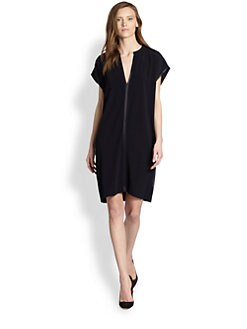 Vince - Splitneck Tunic Dress