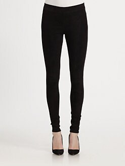 Vince - Strecth Suede Leggings