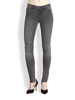 Vince - Ribbed Moto Jeans