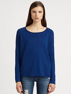 Vince - Oversized Cotton Slub Tee