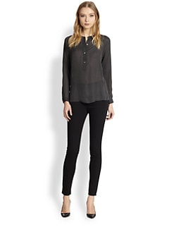 Vince - Silk Raglan Blouse