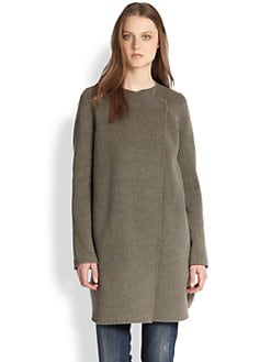 Vince - Convertible Two-Tone Coat