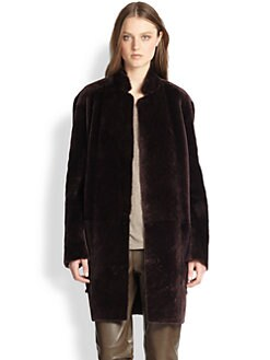 Vince - Reversible Shearling Coat