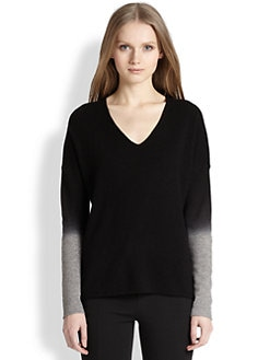 Vince - Wool & Cashmere Ombre-Cuff Sweater