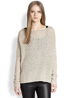 Vince - Cable-Knit Sweater