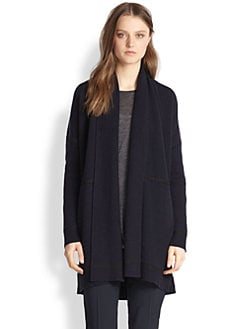 Vince - Wool & Cashmere Draped Cardigan
