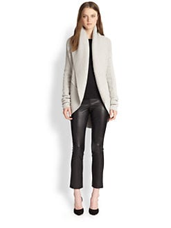 Vince - Ribbed Circle Cardigan