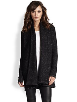 Vince - Marled Hooded Coat