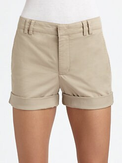 Vince - Rolled Boyfriend Shorts