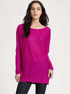 Vince - Stretch Viscose Tee