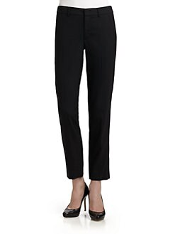 Vince - Cropped Wool Trousers