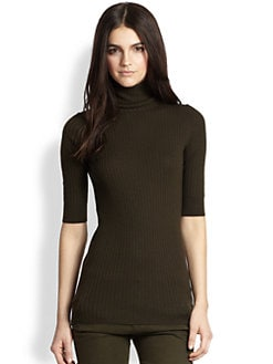 Vince - Ribbed Turtleneck Sweater