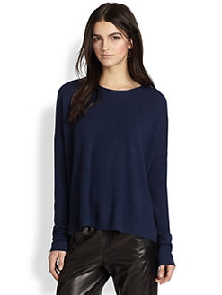 Vince - Split-Hem Cashmere Sweater