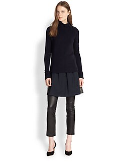 Vince - Wool & Cashmere Turtleneck Sweater