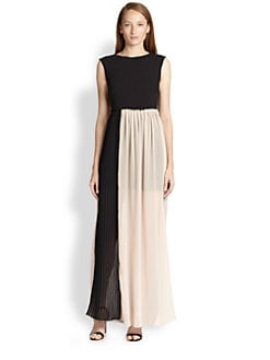 Alice + Olivia - Reid Paperbag-Waist Maxi Dress