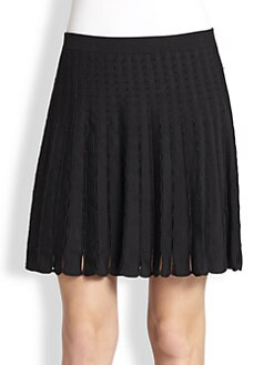 Alice + Olivia - Chatley Ribbon Knit Skirt