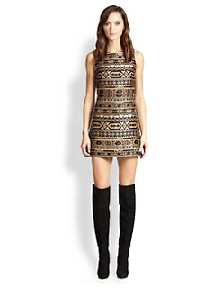Alice + Olivia - Wilcox Jacquard Mini Dress
