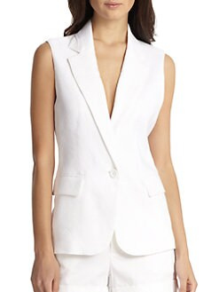 Alice + Olivia - Lorelei Single Button Vest