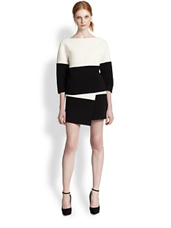 Alice + Olivia - Dory Boxy Drop Shoulder Top