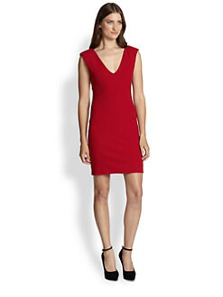Alice + Olivia - Vere V-Neck Dress