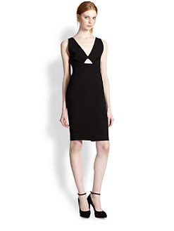Alice + Olivia - Yve Cutout Sheath Dress