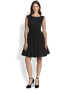Alice + Olivia - Fila Beaded Cotton Dress