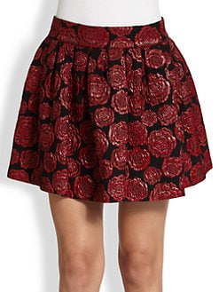 Alice + Olivia - Rose Jacquard Mini Skirt