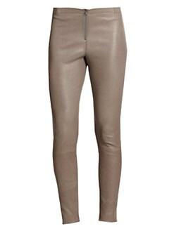Alice + Olivia - Leather Skinny Pants