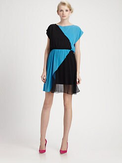 Alice + Olivia - George Blouson Dress